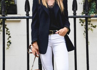 NAVY IS THE NEW BLACK - LOOK OF THE DAY | MAKES IT SIMPLE