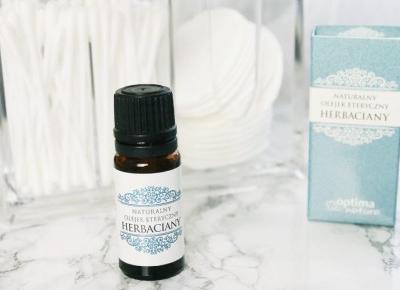 Naturalny olejek herbaciany - MAKEUP JUNKIE