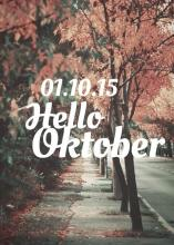 hello Oktober | We Heart It