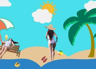 Jak dobrze wyglądać na plaży? - 10 sprawdzonych trików!