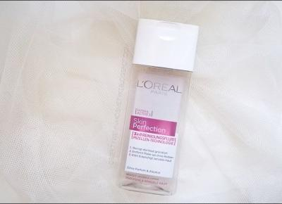 Obiektywem na kosmetyki.: Projekt Denko. | L'Oréal Paris Skin Perfection, płyn micelarny.