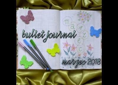 BULLET JOURNAL | marzec | KaMaNgirls