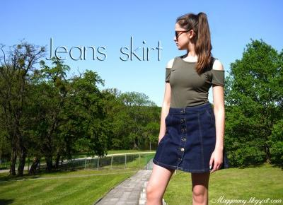 Jeansowe spódniczki | Magymany