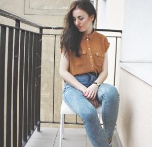 SimplyLife - Blog lifestylowy: nie mam się w co ubrać, czyli #look of the day