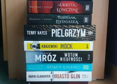 The Book Hothead: BOOK HAUL: grudzień + styczeń