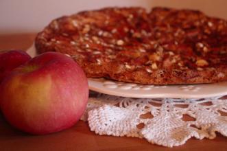 Tarta jabłkowa z cynamonem - prosto, szybko i smacznie!