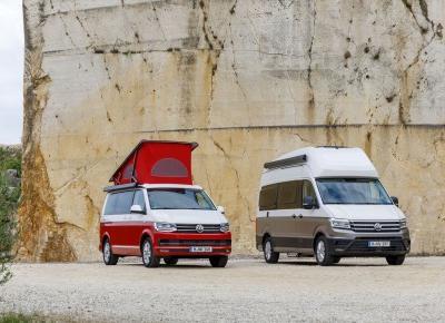 Volkswagen Grand California - kamper produkowany w Polsce!