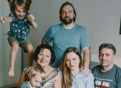 Wielopokoleniowa rodzina pod jednym dachem