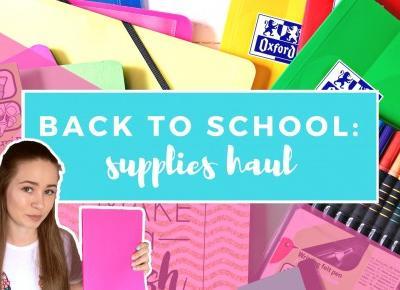 BACK TO SCHOOL:  przybory i gadżety do szkoły