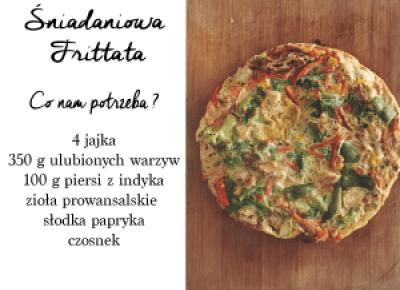 Śniadaniowa Frittata w dwóch wersjach • Martoszka lifestyle blog