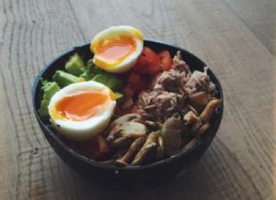 Tuna Bowl moja wersja Buddha Bowl • Martoszka lifestyle blog | Martoszka