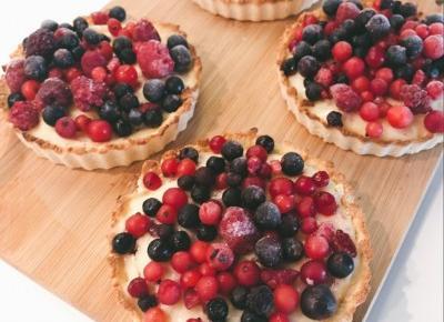 Zdrowe tartaletki z budyniem i owocami • Martoszka lifestyle blog | Martoszka