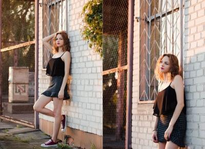 Łapacz Chwil fotografia: Strawberry blond | Sesja z Moniką