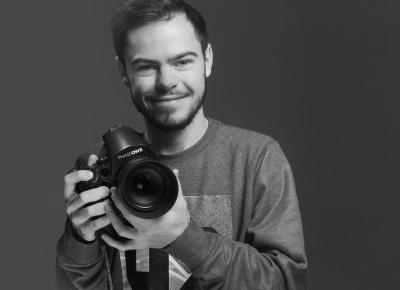 Bastek Czernek czyli fotograf z pasją, który fotografował niejedną gwiazdę – Marta Rodzik