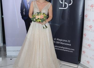 Salon Strefa Piękna w ślubnym anturażu z udziałem gwiazd – Marta Rodzik