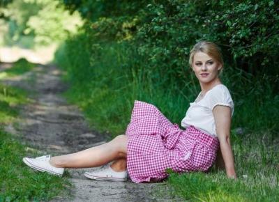 Spódnica w kratę / codzienna stylizacja – Eat Make Up Dress