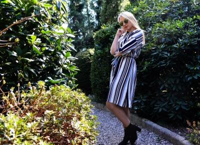 Martyna Kochanowska, czyli do something amazing: Striped dress