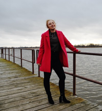 PINK COAT AND DIY JUMER - Martyna Kochanowska, czyli do something amazing