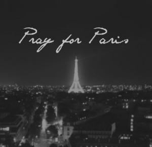 #PrayForParis - Via Martyna
