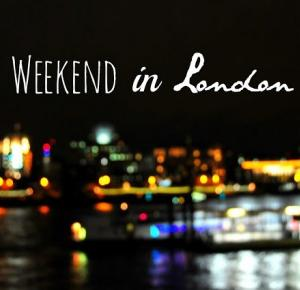 Weekend in London - Via Martyna