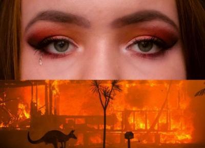 Marysia Chudy: DOBRZE, ŻE AUSTRALIA PŁONIE