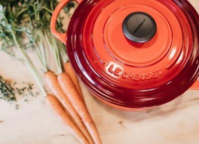 Aromatyczna, wegańska zupa pomidorowa z czerwoną soczewicą
