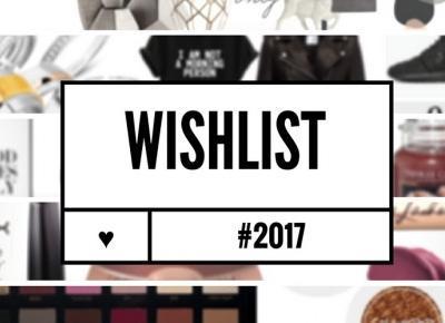 MAZGOO: #WISHLISTA NA ŚWIĘTA I  2017 !