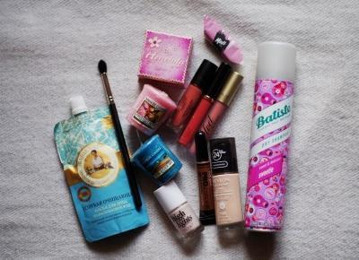 Moment dla mnie: Nowości kosmetyczne || Mintishop