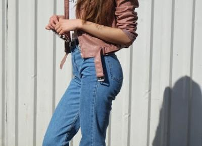 2 razy mom jeans