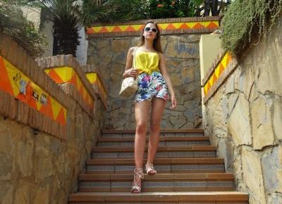 Wspomnienia z Wybrzeża Słońca| Outfit| Hiszpania - ModoEmi