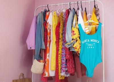 Wakacyjny Haul - Jak skompletować letnią garderobę i nie zbankrutować?