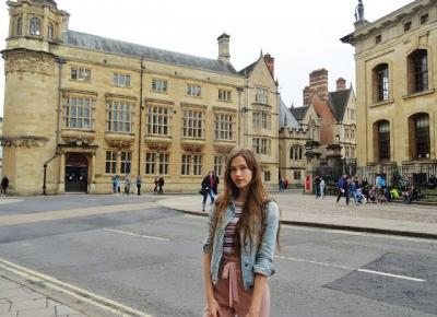 Rainy Oxford, Rainy Summer - Outfit with Powder Pink Pants - ModoEmi