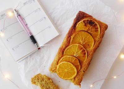 Ciasto pomarańczowe - bez glutenu, bez tłuszczu
