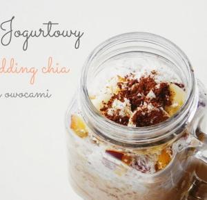 Jogurtowy pudding chia