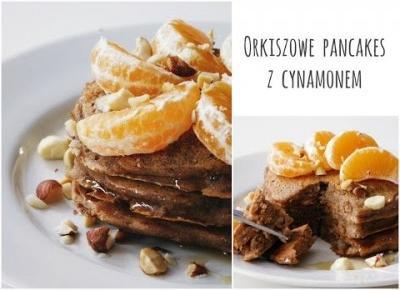 Pancakes z płatkami orkiszowymi (bez mleka)