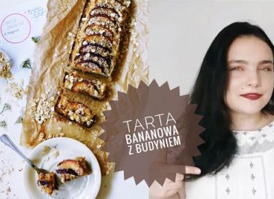 FIT tarta bananowa z budyniem (wegańska, bez cukru)
