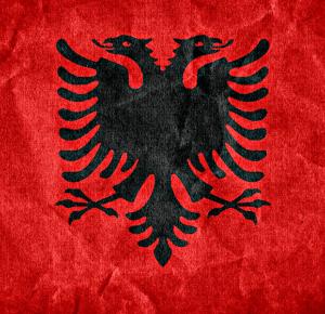 Reset w barwach Gangu Albanii