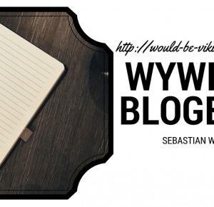 We're the would-be vikings! - Michalina Rychcik: Wywiad z blogerem - Sebastian Waszczuk