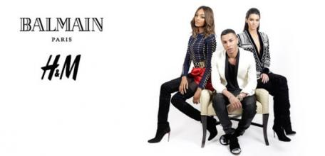 Michaux Blog: Balmain Paris x H