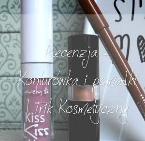 Milaa: #Recenzja - Konturówka i pomadki   Trik kosmetyczny