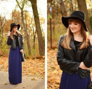 W roli głównej długa spódnica i kapelusz