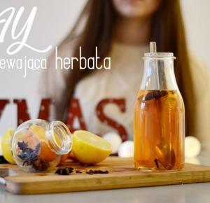 Milion i Oliwka: DIY rozgrzewająca herbata