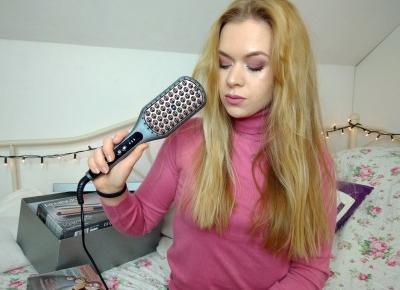 Szczotka prostująca włosy - CZY TO DZIAŁA?! | Keratin Protect | Remington | Emilia Miller