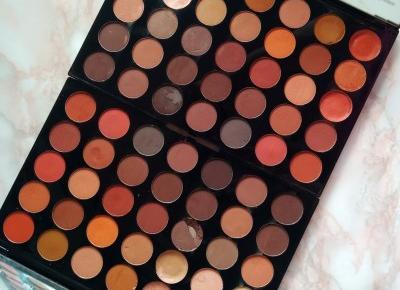 Odpowiednik kultowej palety MORPHE! Musisz ją mieć! | Makeup Revolution Pro Amplified | INSPIRATION | Emilia Miller