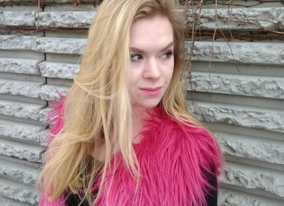 Pink Flamingo | Różowa futrzana kamizelka | Emilia Miller