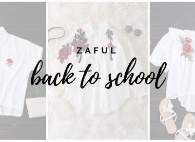 Wróć do szkoły w wielkim stylu | Back 2 School | Zaful | Emilia Miller