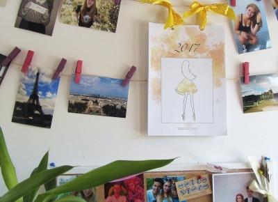 Darmowy kalendarz z blogerkami 2017 | Emilia Miller