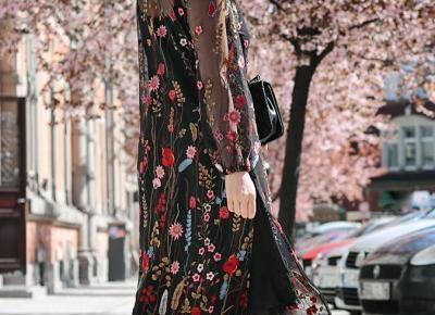 Haftowana sukienka (Minimalissmo)