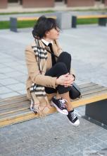 Kamelowy płaszcz New Look