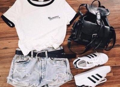MODOWE INSPIRACJE NA LATO | Outfity dla kobiet Flat Lay